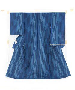 秋山眞和作 綾の手花織紬 着尺のメイン画像