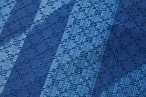 秋山眞和作 綾の手花織紬 着尺のサブ3画像