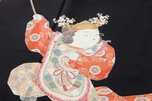 初代由水十久作 本加賀友禅留袖「童舞」のサブ3画像