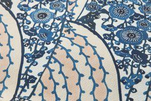 祝まな作 型絵染名古屋帯のサブ3画像