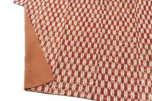 茜染 紬着物のサブ3画像