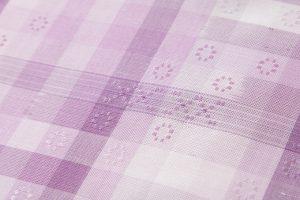 深石美穂作 川平織着尺 「花かすみ」のサブ3画像