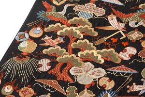長艸敏明作 京繍袋帯のサブ2画像