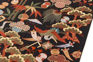長艸敏明作 京繍袋帯のサブ3画像