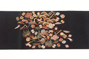 長艸敏明作 京繍袋帯のサブ4画像