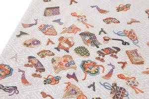 手刺繍 袋帯のサブ1画像