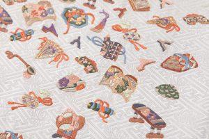 手刺繍 袋帯のサブ2画像