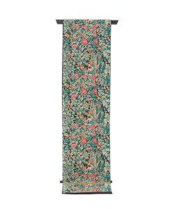 龍村美術織物製 袋帯地「芳香花鳥錦」のメイン画像