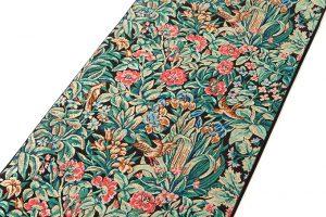 龍村美術織物製 袋帯地「芳香花鳥錦」のサブ1画像