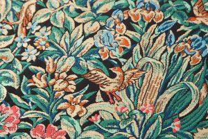 龍村美術織物製 袋帯地「芳香花鳥錦」のサブ2画像