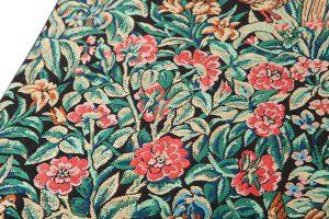 龍村美術織物製 袋帯地「芳香花鳥錦」のサブ3画像
