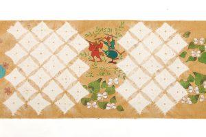 鈴木紀絵作 紬地名古屋帯地「鎮守の森」のサブ5画像