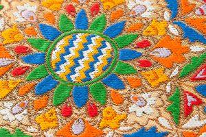 龍村美術織物製 袋帯「トルコ繍華文」のサブ3画像