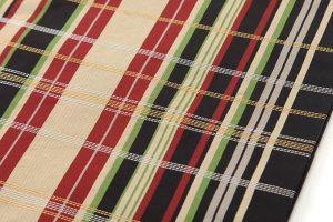 龍村美術織物製 袋帯「井波間道錦」のサブ3画像