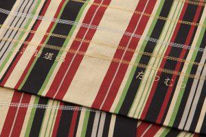龍村美術織物製 袋帯「井波間道錦」のサブ4画像