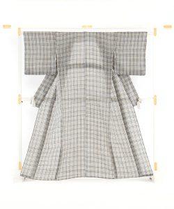 鈴木苧紡庵作  越後上布 着物のメイン画像