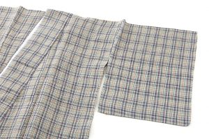 鈴木苧紡庵作  越後上布 着物のサブ1画像