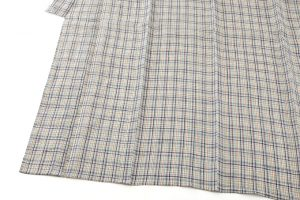 鈴木苧紡庵作  越後上布 着物のサブ2画像