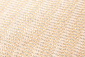 人間国宝 北村武資作 袋帯地 繧繝錦「魚々子縞(ななこじま)」のサブ2画像