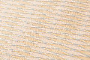 人間国宝 北村武資作 袋帯地 繧繝錦「魚々子縞(ななこじま)」のサブ3画像