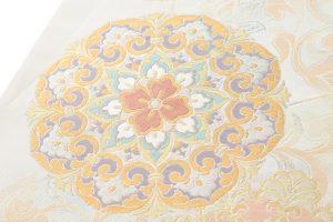 川島織物製 プラチナ箔袋帯のサブ2画像
