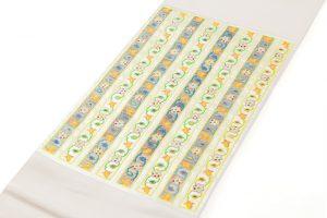 龍村光峯製 袋帯「玉柱文」のサブ1画像