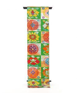 龍村平蔵製 丸帯「遠州七宝錦」のメイン画像