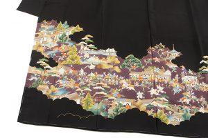 東京染繍大彦製 留袖地のサブ1画像