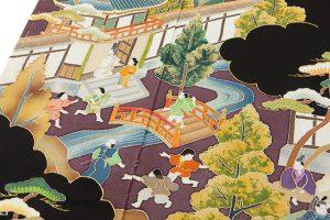 東京染繍大彦製 留袖地のサブ3画像