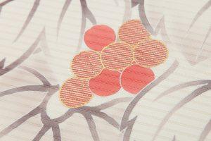 工芸きもの野口製 絽塩瀬名古屋帯地のサブ4画像