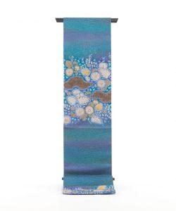 初代久保田一竹作 袋帯「薫風」のメイン画像