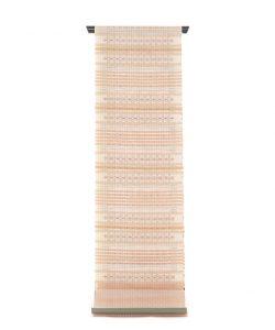 首里花織(絽入り)名古屋帯地のメイン画像