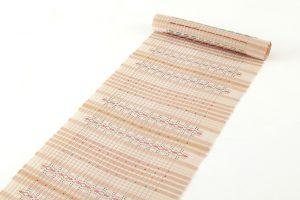 首里花織(絽入り)名古屋帯地のサブ1画像