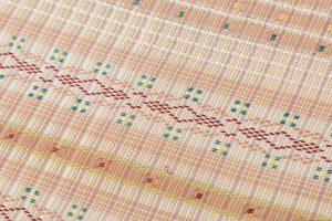 首里花織(絽入り)名古屋帯地のサブ2画像