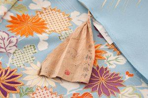 白木染匠製 京友禅訪問着地 「波に束ね草花」のサブ8画像