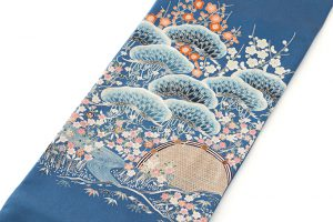 熊谷温作 染袋帯のサブ1画像