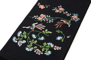 龍村平蔵製 袋帯「楯彦花鳥錦」のサブ1画像