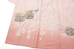 柿本市郎作 本加賀友禅訪問着地 「しだれ梅花篭」のサブ2画像