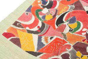 添田敏子作 タペストリー「波間の蝶」のサブ2画像
