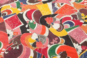 添田敏子作 タペストリー「波間の蝶」のサブ3画像