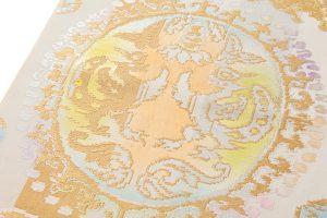 龍村平蔵製 袋帯「円文百虎文」のサブ2画像