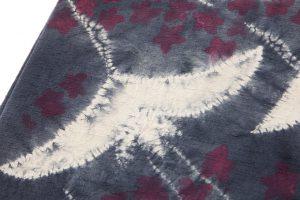 鈴木紀絵作 絞り染紬名古屋帯のサブ2画像