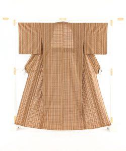 日本工芸会正会員 伊藤峯子作 首里花倉織着物のメイン画像