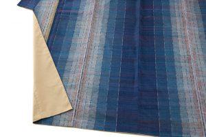 平山八重子作 紬織着物「藍の調べ」のサブ2画像