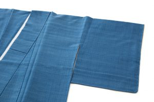 人間国宝 佐々木苑子作 紬織着物のサブ1画像