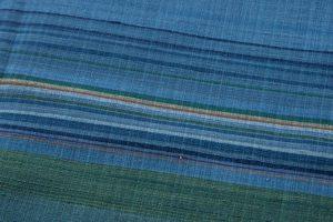 人間国宝 佐々木苑子作 紬織着物のサブ5画像