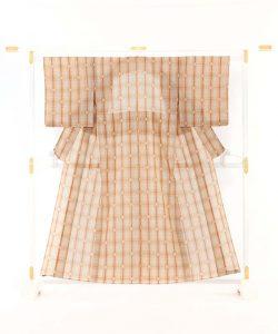 真栄城興茂作 琉球美絣(駒上布) 着物 のメイン画像