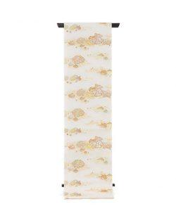 龍村美術織物製 夏袋帯地 「磯香映飾錦」のメイン画像