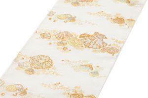 龍村美術織物製 夏袋帯地 「磯香映飾錦」のサブ1画像