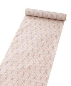 秋山眞和作 貝紫花織綾の手紬 着尺のメイン画像